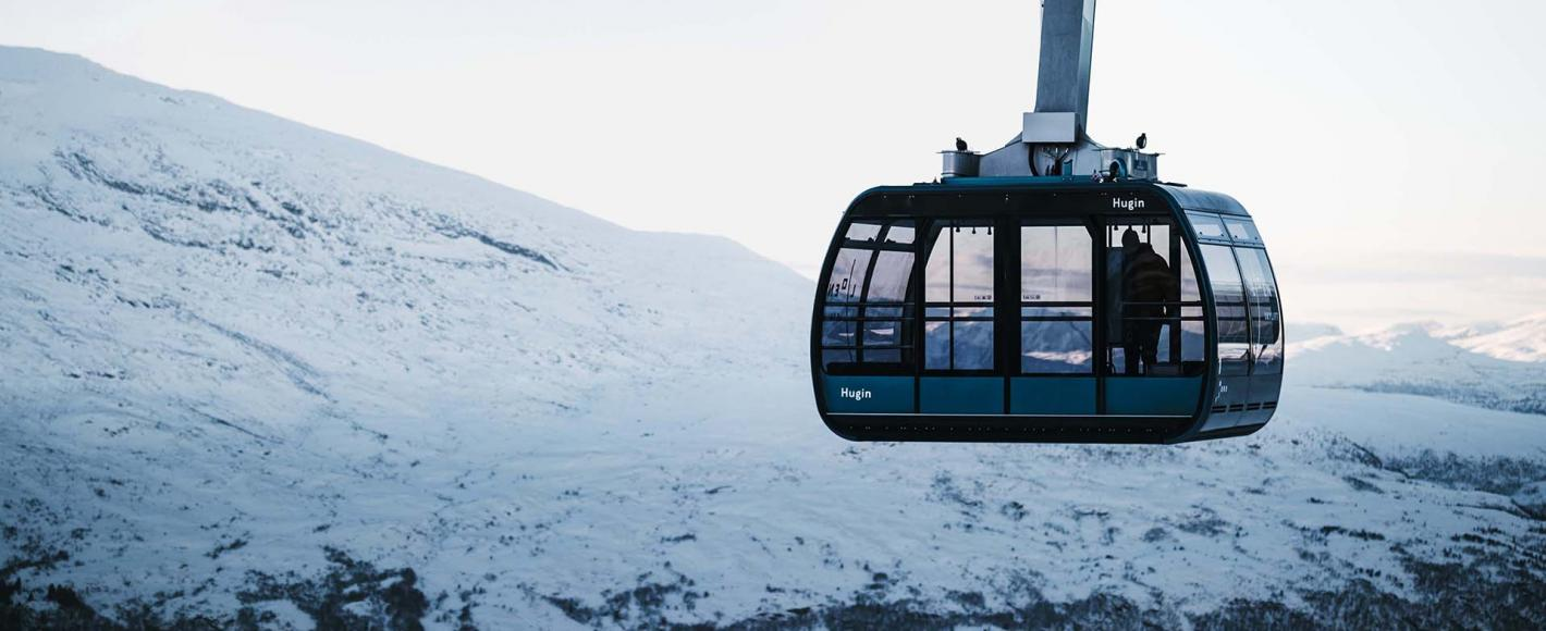 Loen Skylift Winter